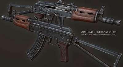 Fallout 3 — AKS-74U | Fallout 3 моды