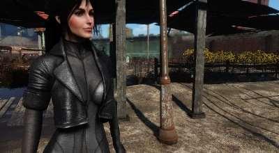 Fallout 4 — Костюм предвестника (CBBE) | Fallout 4 моды