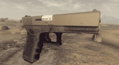 Fallout NV — Glock 17 Gen 4 | Fallout New Vegas моды