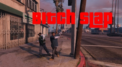 GTA 5 — Пощечина (Bitch Slap) | GTA 5 моды