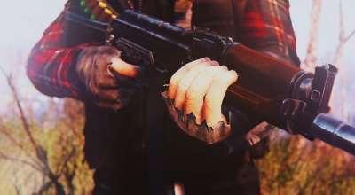 Fallout 4 — Калашников | Fallout 4 моды
