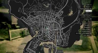 GTA 5 — Полностью открытая карта в сингле (Singleplayer Reveal Map) | GTA 5 моды