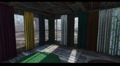 Fallout 4 — Просто Занавески | Fallout 4 моды
