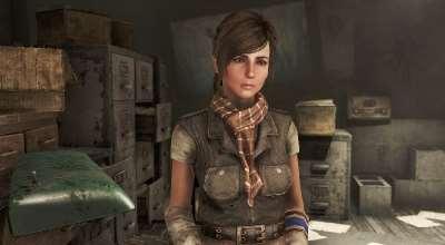 Fallout 4 — Реплейсер Элли Перкинс | Fallout 4 моды
