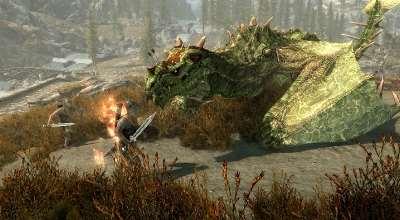 Skyrim — Сборник новых драконов | Skyrim моды