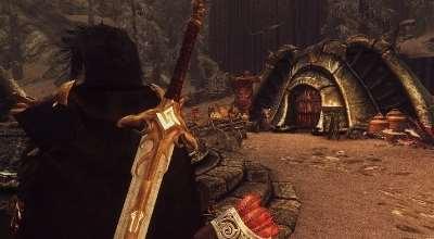 Skyrim — Руническое нордское оружие героев | Skyrim моды