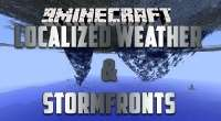 Minecraft — Localized Weather & Stormfronts для 1.7.10/1.7.2/1.6.4