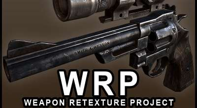 Fallout 3 — Weapon Retexture Project | Fallout 3 моды