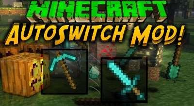 Minecraft — AutoSwitch / Автоматическая смена инструмента