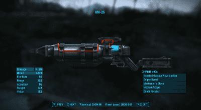 Fallout 4 — Реплейсер всех лазерных пушек | Fallout 4 моды