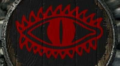 Skyrim — Щиты Средиземья (из Властелина Колец)
