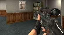 Counter Strike:Source — COD7 PSG1 as g3sg1 | Counter Strike:Source моды