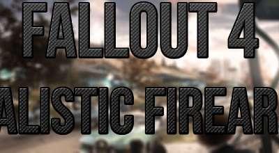 Fallout 4 — Реалистичные звуки стрельбы | Fallout 4 моды