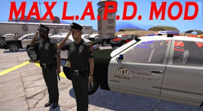 Arma 3 — Max L.A.P.D. Mod | Arma 3 моды