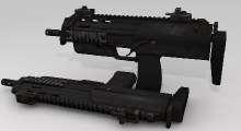 Fallout NV — Пистолет-пулемёт MP-7 | Fallout New Vegas моды