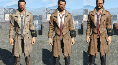 Fallout 4 — Плащ Константина | Fallout 4 моды