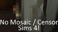 Sims 4 — Убираем «мозайку» (No Mosaic) | The Sims 4 моды