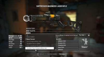 Fallout 4 — Глушители для лазерного оружия | Fallout 4 моды