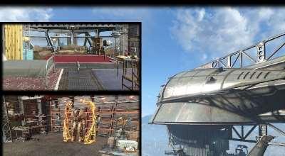 Fallout 4 — Летающее судно «Сварщик» | Fallout 4 моды