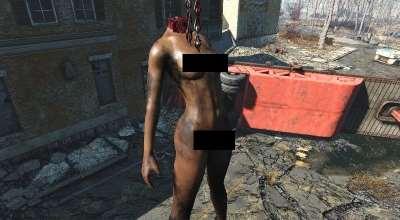 Fallout 4 — Улучшенные трупы (CBBE / EVB) | Fallout 4 моды