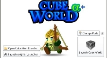 Cube World — Launcher PLUS / Новый лаунчер | Cube World моды