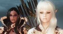 Skyrim — раса Эльфы Легенд (UNP+CBBE) | Skyrim моды