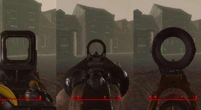 Fallout 4 — Улучшение прицеливания (Интерфейс) | Fallout 4 моды