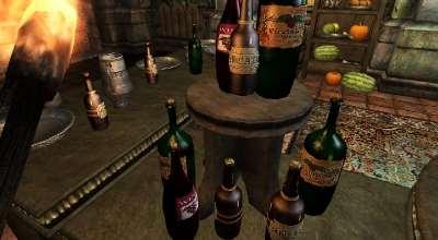 Oblivion — Реплейсер всей выпивки | Oblivion моды
