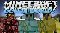 Minecraft 1.7.2 — Golem World | Minecraft моды