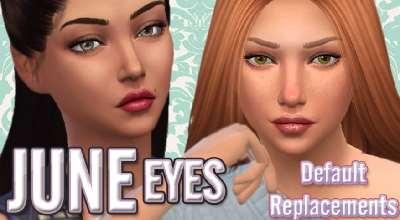 Sims 4 — Замена оригинальных глаз | The Sims 4 моды
