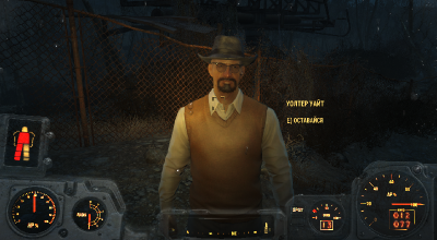 Fallout 4 — Уолтер Уайт | Fallout 4 моды