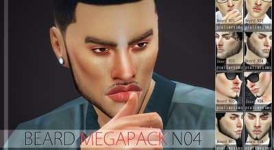 Sims 4 — Новые бороды | The Sims 4 моды