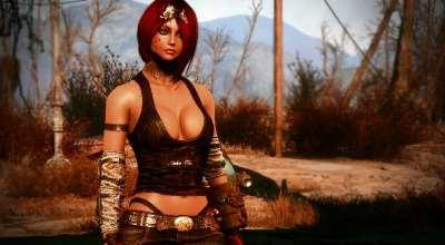 Fallout 4 — Броня Расточителя для девушек — CBBE — Bodyslide | Fallout 4 моды