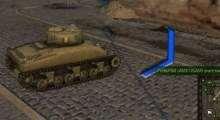 World Of Tanks 0.8.6 — Индикатор направления получения урона синий   World Of Tanks моды
