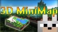 Minecraft — 3D миникарта для 1.7.10/1.7.2 | Minecraft моды