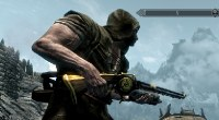 Skyrim — двуручная двемерская винтовка