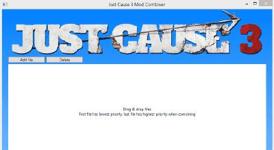 Just Cause 3 — Программа для комбинирования модов | Just Cause 3 моды