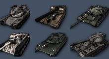 World Of Tanks 0.8.5 — Иконки танков в ангаре в камуфляже | World Of Tanks моды