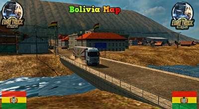 ETS 2 — Карта Боливии (Bolivia Map) | ETS2 моды
