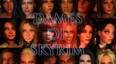 Skyrim — Дамы Скайрима | Skyrim моды