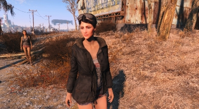Fallout 4 — Рестайлинг Кюри | Fallout 4 моды