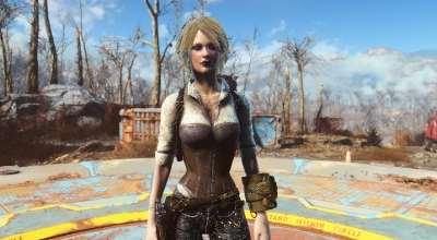 Fallout 4 — Одежда детектива (CBBE / Vanilla) | Fallout 4 моды