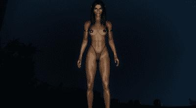 Skyrim — Новое тело для девушек «Зоя бегунья» | Skyrim моды