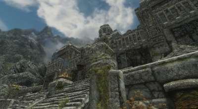 Skyrim — Маркарт и двемерские руины из гранита   Skyrim моды