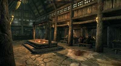 Skyrim — Таверна «Треснувший Бивень» | Skyrim моды