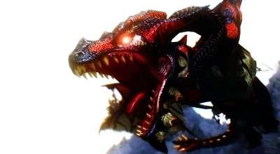 Skyrim — Улучшенные звуки для драконов | Skyrim моды