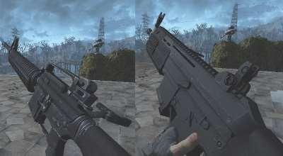 Fallout 4 — Новая анимация перезарядки оружия | Fallout 4 моды