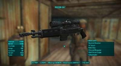 Fallout-4 Боевая Винтовка G67   Fallout 4 моды