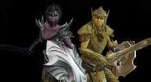 Skyrim — Золотые Святые и Темные Соблазнительницы (раса+заклинание)