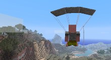 Minecraft — Парашют для 1.8/1.7.10/1.6.4/1.5.2 | Minecraft моды